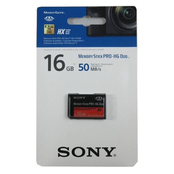 ■SONY製 高速転送メモリースティックPro-HG Duo 16GB MS-HX16B【メール便送料無料】