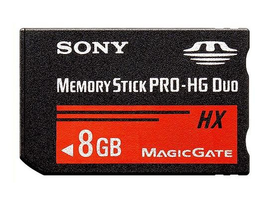 ■SONY 高速転送メモリースティックPro-HG Duo 8GB MS-HX8B【メール便可能】