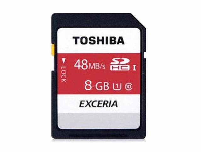 メール便可能■東芝製 SDHC8GB クラス10 THN-N301...