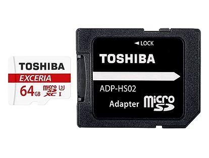 ■東芝製 microSDXC64GB クラス10 THN-M302R0640A2【メール便送料無料】