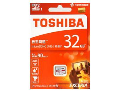 ■東芝製 microSDHC32GB クラス10 THN-M302R0320C...