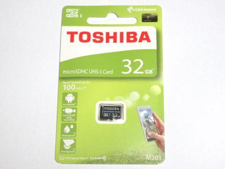 東芝製 microSDHC 32GB クラス10 100MB/s THN-M20...