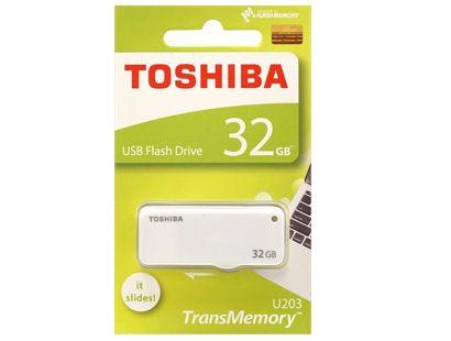 東芝 USBフラッシュメモリー 32GB スライド式 THN...
