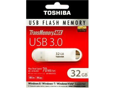 東芝 USBフラッシュメモリー32GB USB3.0 V3SZK-03...