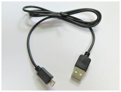 microUSBケーブル 1m 2.4A出力対応(急速充電・デ...