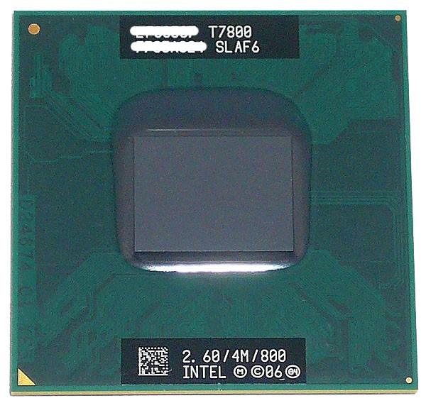 【中古】Core 2 Duo モバイル T7800★2.6GHz FSB800MHz Merom★SLAF6★【即納】≪intel インテル Core2Duo core2 ノートパソコン CPU≫