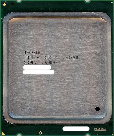 【中古】Core i7 3820★3.6GHz LGA2011★SR0LD★...