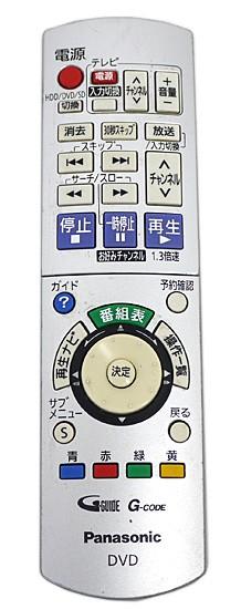 【中古】Panasonic★DVDレコーダー「DIGA」用リモ...