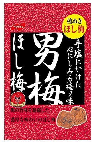 ノーベル 男梅ほし梅 20g