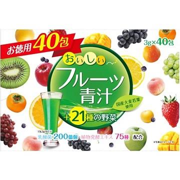 ユーワ おいしいフルーツ青汁 3g×40包