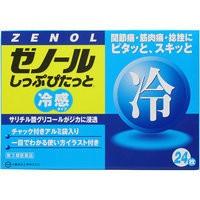 【第3類医薬品】ゼノールしっぷぴたっと 24枚 大...