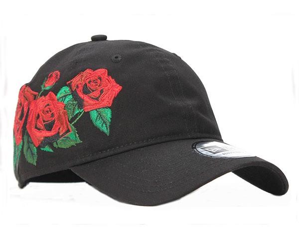 ニューエラ 9THIRTY 薔薇をアイコニックに表現 メ...
