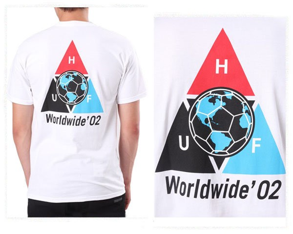 ハフ WC TAKEOVER TT S/S TEE WORLDWIDE サッカー...