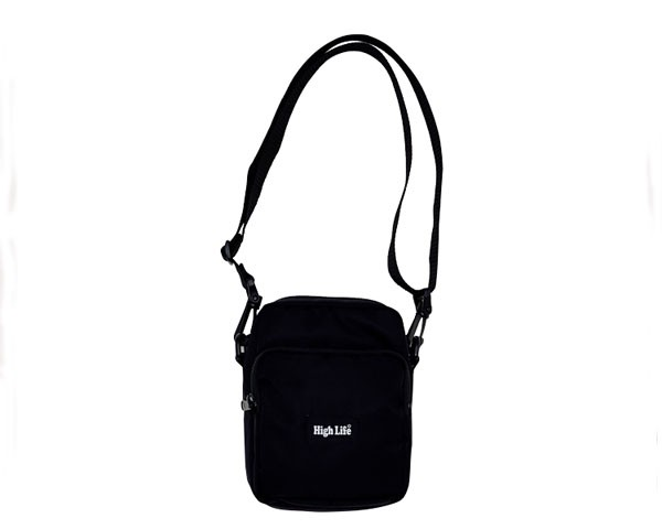 ハイライフ Shoulder Pouch Bag - Black -ショル...