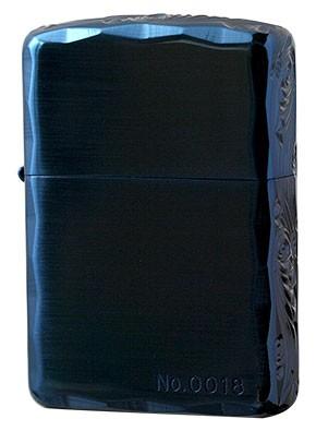 Zippo ジッポー 3面立体彫刻 3NC-ARABESQUE F Blu...
