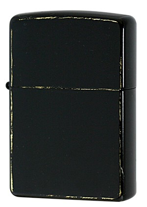 Zippo ジッポー Brass BLACK Damage Coating G・t...