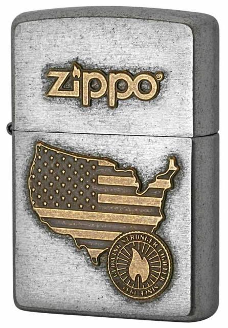 Zippo ジッポー LOGO METAL ロゴメタル 2SFM-AMER...