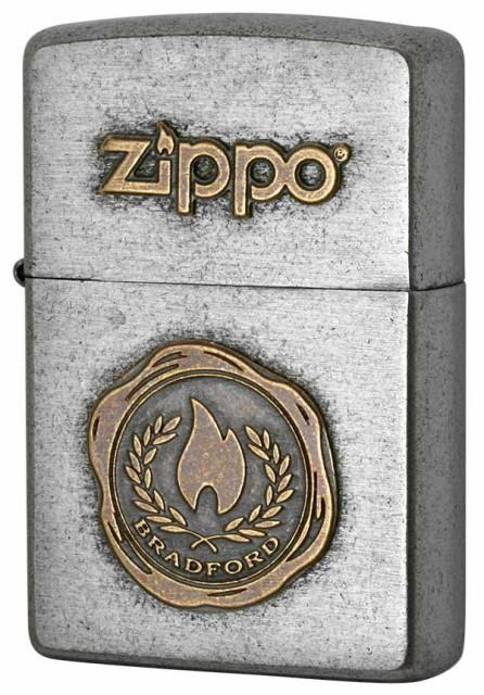Zippo ジッポー LOGO METAL ロゴメタル 2SFM-FLAM...
