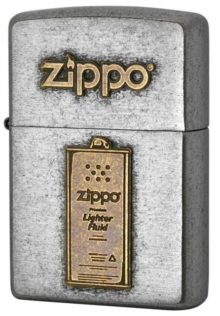 Zippo ジッポー LOGO METAL ロゴメタル 2SFM-OIL