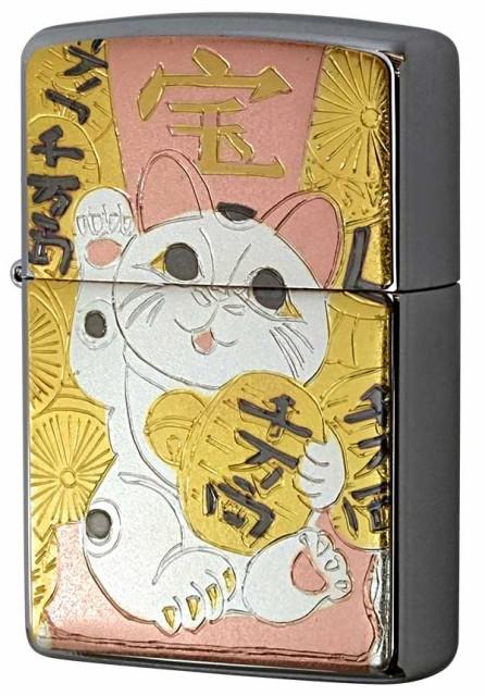ZIPPO ジッポー 電鋳板 招き猫