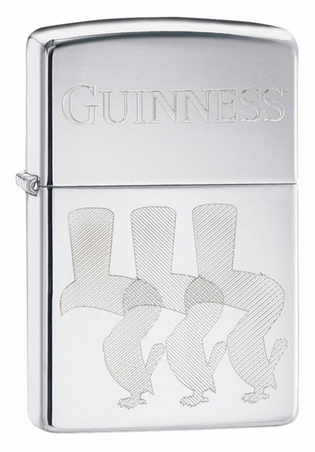 Zippo ジッポー Guiness Beer, Engraved Toucan B...