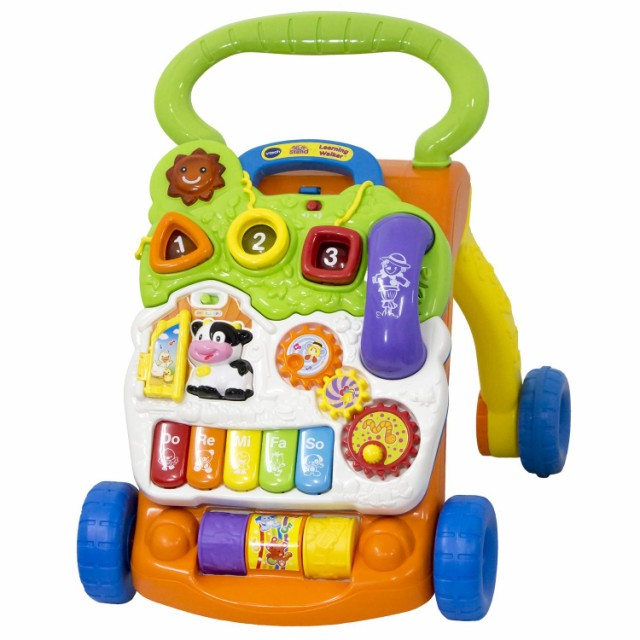 送料無料 VTech Learning Walker Sit-to-Stand ...