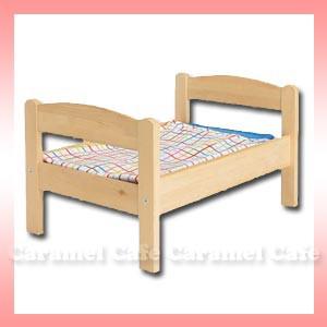 【IKEAイケア】DUKTIG★人形用ベッド リネン付き...