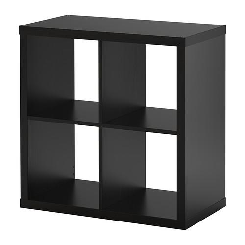 IKEAイケアKALLAX シェルフユニット 77×77cmブ...