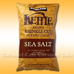 【KETTLE ケトル】SEA SALT ポテトチップス クリ...