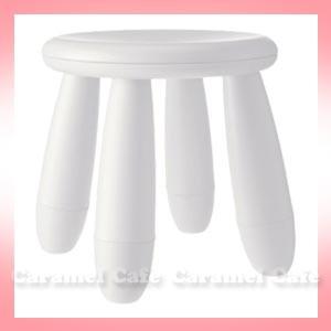【IKEAイケア】MAMMUTマンムット子供用スツール椅...