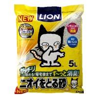 ライオン ペットキレイ ニオイをとる砂 5L(猫...