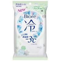 ビオレ冷シート ハーブ 汗ふきシート 大判 2...