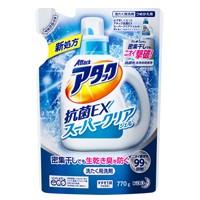 アタック抗菌EXスーパークリアジェル 詰替770g ...