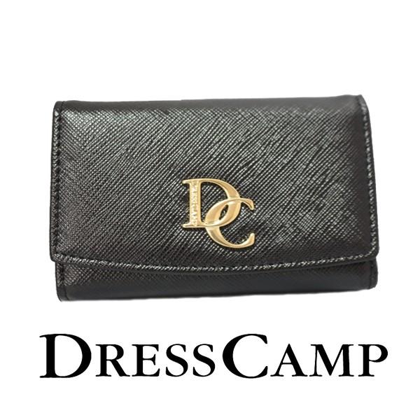 DRESSCAMP (ドレスキャンプ) ロゴプレートキーケ...