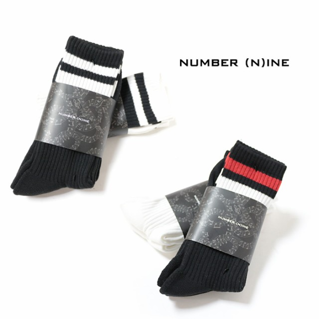 NUMBER (N)INE ナンバーナイン 靴下 2点セット く...