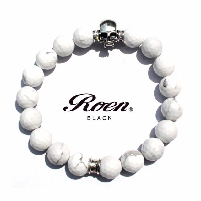 Roen BLACK(ロエンブラック)ハウライトブレスレッ...