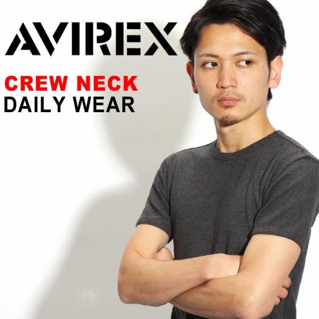 メール便送料無料 AVIREX デイリークルーTシャツ ...