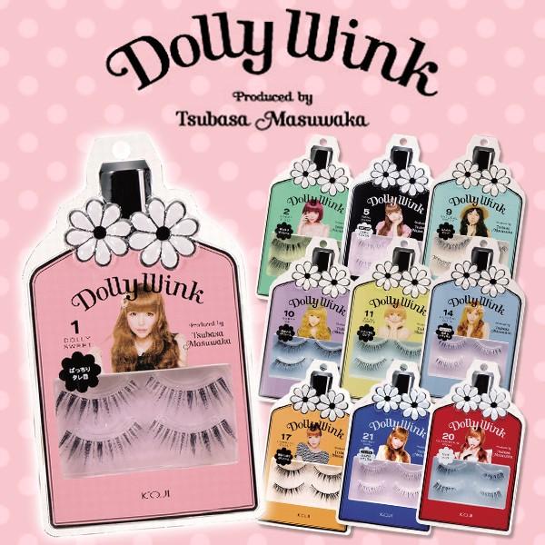 [ つけまつげ ] Dolly Wink ドーリーウインク 4枚...