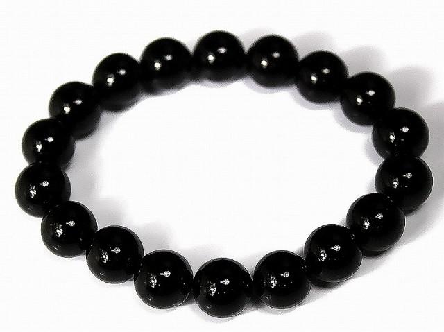 【標準12mm】最高級オニキス数珠ブレスレット■ア...