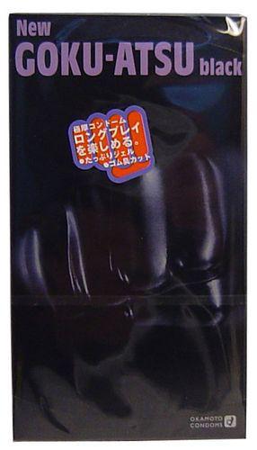 NEW GOKU-ATSU Black 極厚コンドーム12個入 15501...