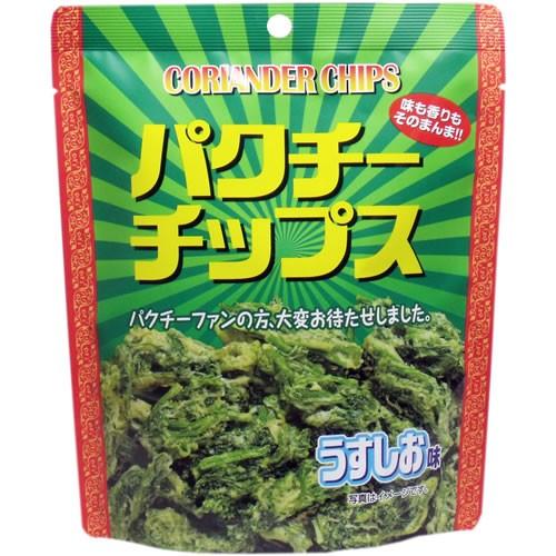 味源 パクチーチップス うすしお味 45g(パクチー...
