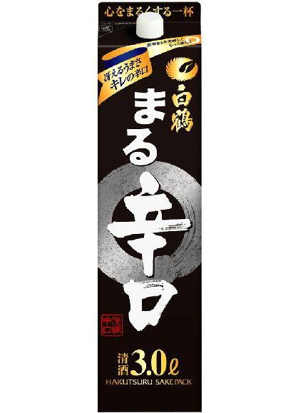辛口【白鶴酒造】白鶴 まる 辛口 酒パック 3000...