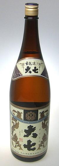 大七酒造 醇良酒 1800ml