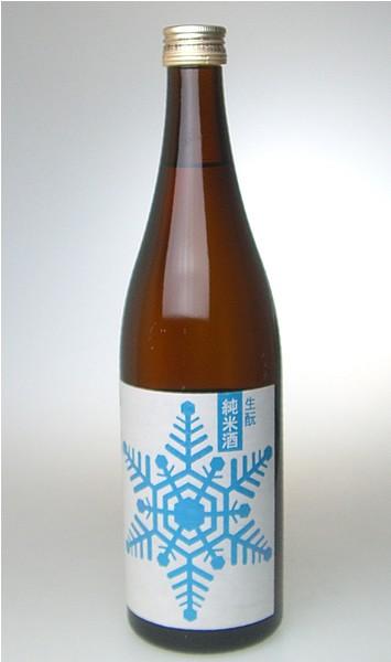 【出羽ノ雪】 純米酒 雪 720ml 山形の地酒
