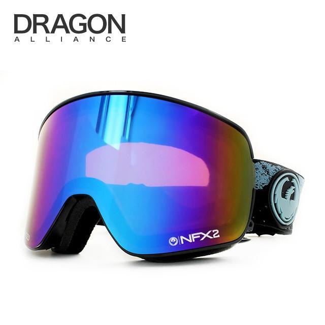 ドラゴン ゴーグル 2015-2016年モデル ミラーレンズ レギュラーフィット DRAGON NFX2 722-6296 スキー スノーボード スノボ