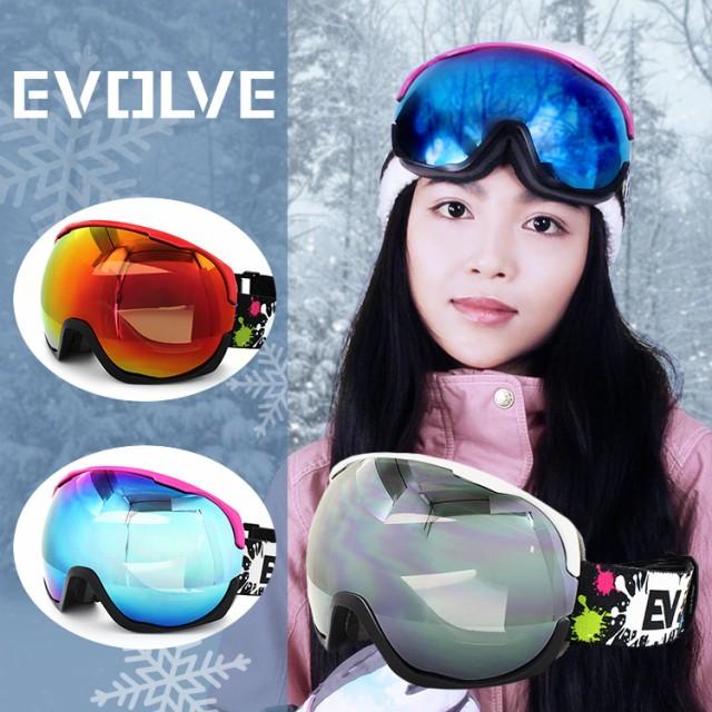 イヴァルブ ゴーグル ミラーレンズ EVOLVE VOLUME...