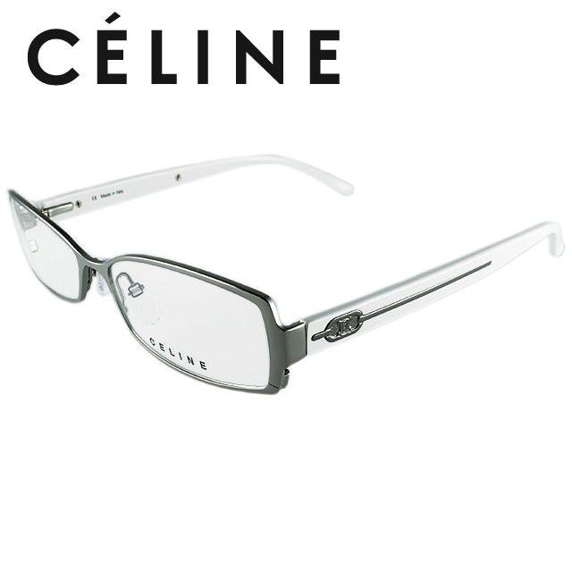 セリーヌ 伊達眼鏡 CELINE VC1414M 55サイズ 0568 人気 眼鏡 メガネ ブランド ファッション オシャレ アイウェア