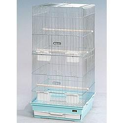 [鳥かご]41−ロング/鳥カゴ 鳥籠 バードケージ 鳥小屋 セキセイインコ オカメインコ ケージ ゲージ ブルー ピンク