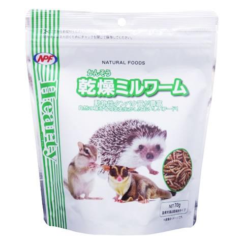 Hearty 乾燥ミルワーム/NATURAL FOODS NPF ハリネ...