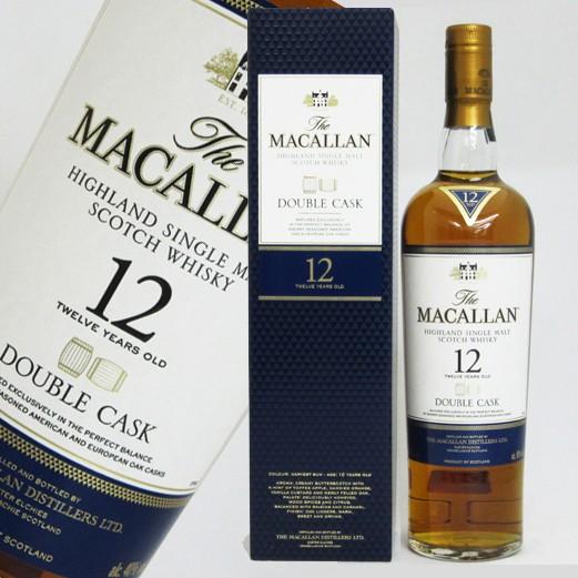 マッカラン(MACALLAN) ダブルカスク 12年 40度 ...